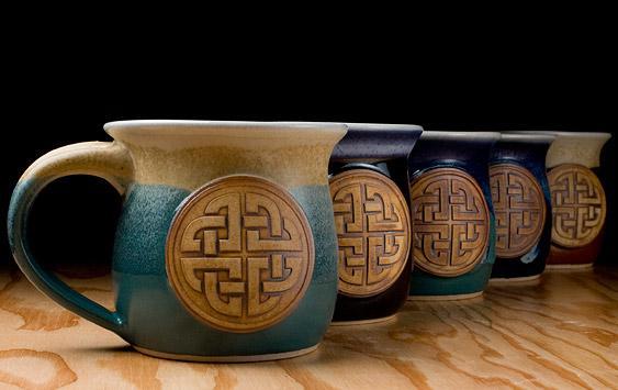 ... Handmade Coffee Mug Celtic Coffee Mugs ...