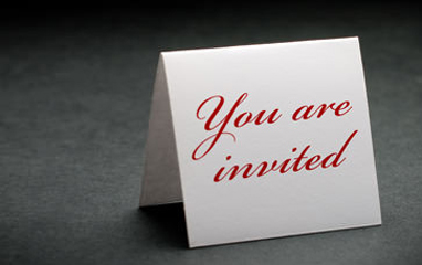 Invitations Are Often Unexpected