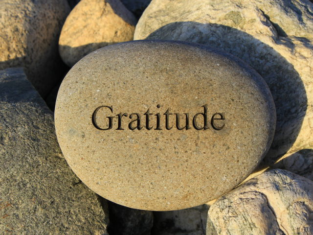 Gratitude is a Way of Living